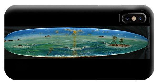Island Surf Dreams IPhone Case