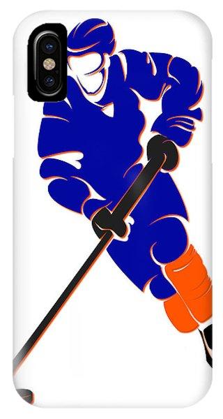 Islanders iPhone Case - Islanders Shadow Player by Joe Hamilton
