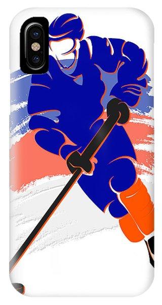 Islanders iPhone Case - Islanders Shadow Player2 by Joe Hamilton