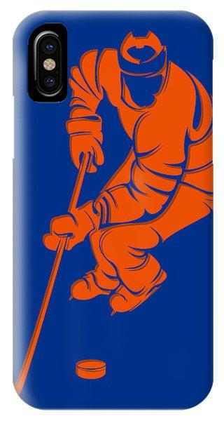 Islanders iPhone Case - Islanders Shadow Player3 by Joe Hamilton
