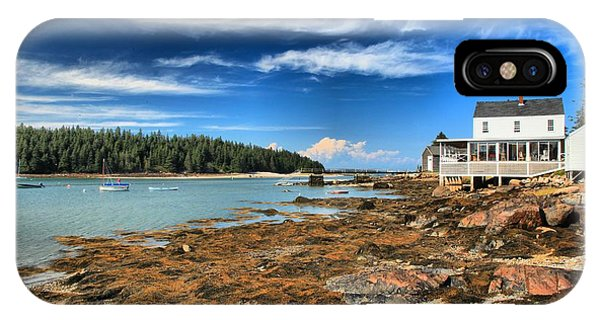 Isle Au Haut House IPhone Case