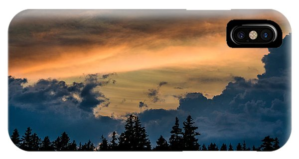 Isle Au Haut Sunset IPhone Case