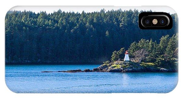 Isle In Strait Of Georgia IPhone Case