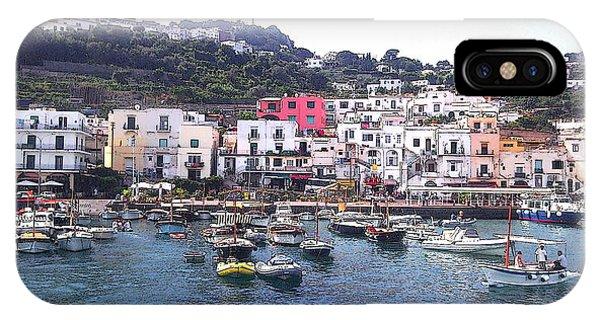 Isle Of Capri IPhone Case