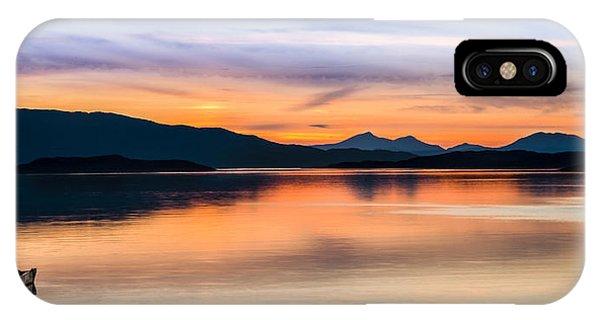 Sunset Isle Of Jura Scotland IPhone Case