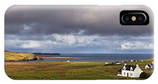 Beautiful Scotland iPhone Case - Isle Of Skye Pano by Jane Rix