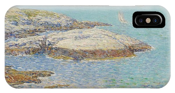 New England Coast iPhone Case - Isles Of Shoals by Childe Hassam