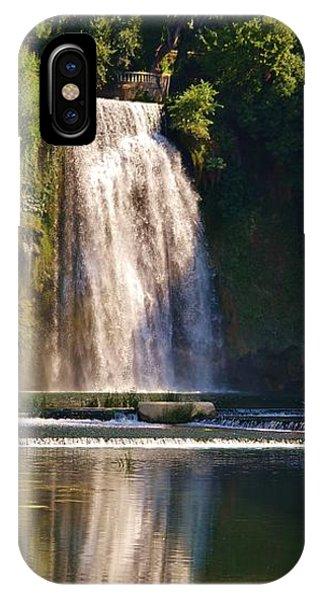 Isola Del Liri Falls IPhone Case