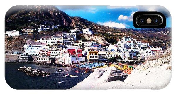 Isola Di Ischia Sant'angelo - The Island Of Ischia Sant'angelo IPhone Case