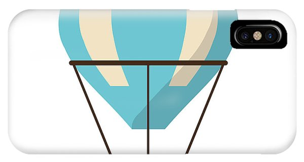 Isolated Hot Air Balloon Design Phone Case by Jemastock