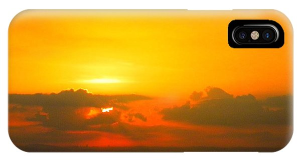 Israeli Sunset IPhone Case