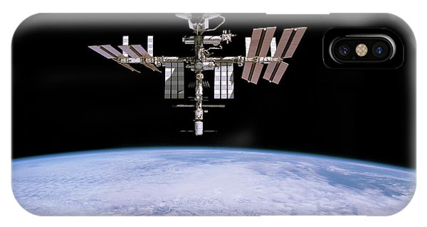 International Space Station iPhone Case - Iss And Space Shuttle Endeavour by Nasa/esa/science Photo Library