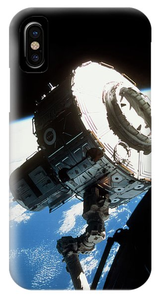 International Space Station iPhone Case - Iss Quest Airlock by Nasa/science Photo Library