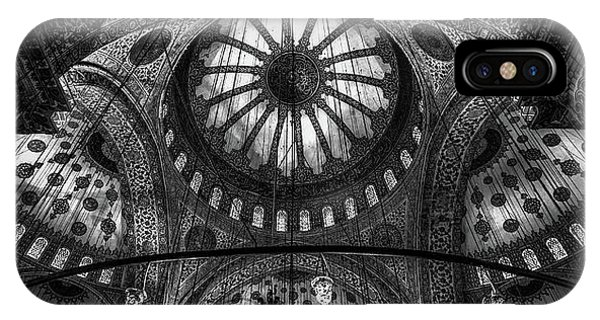 Turkey iPhone Case - Istanbul - Blue Mosque by Michael Jurek