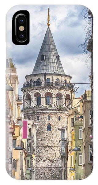 Istanbul Galata Tower IPhone Case
