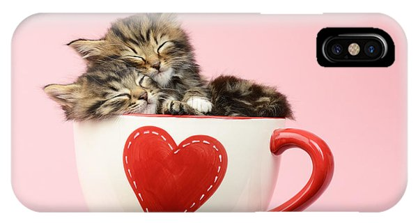 Tabby iPhone Case - It Must Be Love by MGL Meiklejohn Graphics Licensing