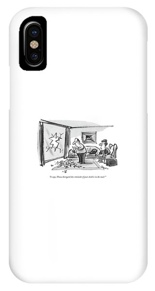Debts iPhone Case - It Says, 'please Disregard This Reminder If by Lee Lorenz