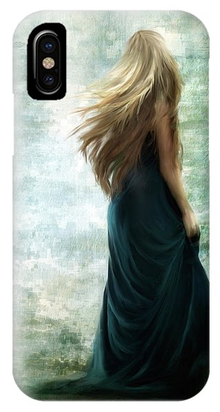 Hair iPhone Case - It Was The Way She Left by Charlaine Gerber