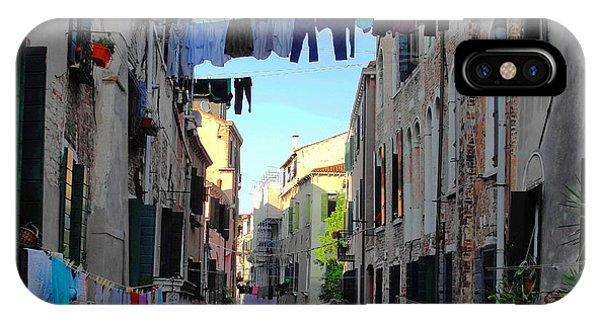 Italian Clotheslines IPhone Case