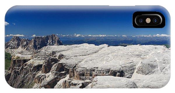 Italian Dolomites - Sella Group IPhone Case