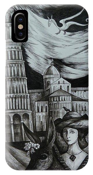Italian Fantasies. Pisa IPhone Case