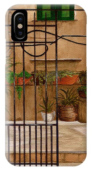 Italian Iron Gate IPhone Case
