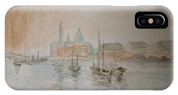 Italian Seaport IPhone Case
