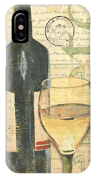Liquor iPhone Case - Italian Wine And Grapes 1 by Debbie DeWitt