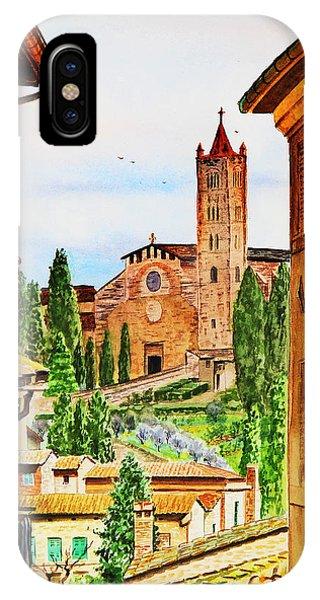 Italy Siena IPhone Case