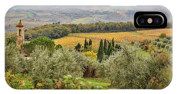 iPhone Case - Italy, Tuscany, San Gimignano by Hollice Looney
