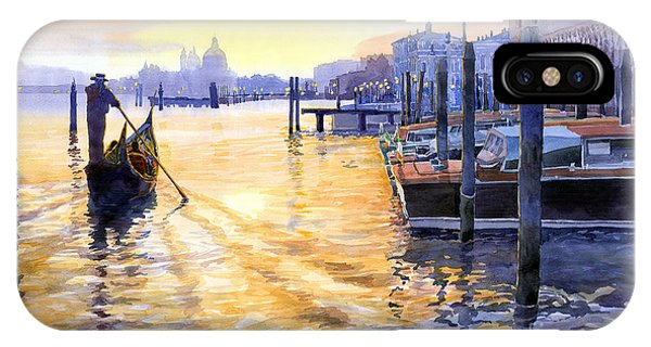 People iPhone Case - Italy Venice Dawning by Yuriy Shevchuk