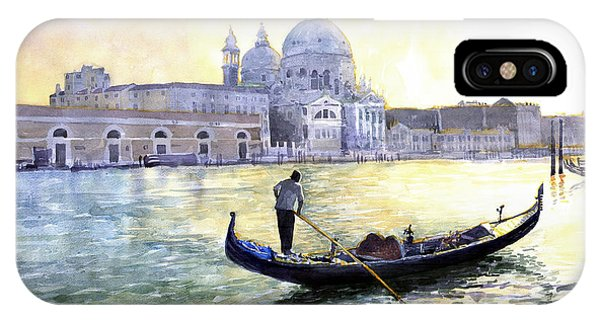 City Scenes iPhone Case - Italy Venice Morning by Yuriy Shevchuk