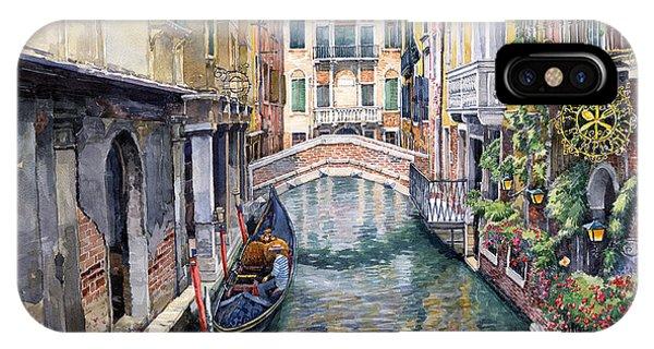 Italy Venice Trattoria Sempione IPhone Case