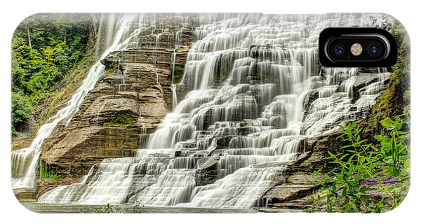 Ithaca Falls IPhone Case