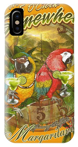 Concert iPhone Case - It's 5 O'clock Somewhere by Desiderata Gallery