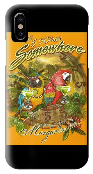 Lime iPhone Case - It's 5 O'clock Somewhere by Desiderata Gallery