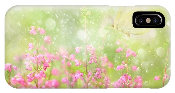 Soft iPhone Case - It's A Beautiful Day... by Delphine Devos