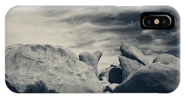 Split Rock iPhone Case - It's A Powerful Thing by Laurie Search
