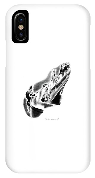 Pub iPhone Case - It's Been Taken Care Of by Richard Taylor