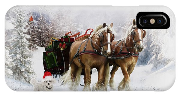 iPhone Case - A Christmas Wish by Shanina Conway