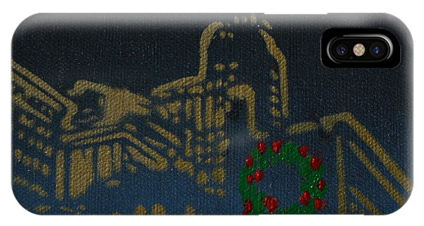 It's Christmas Time In The City IPhone Case