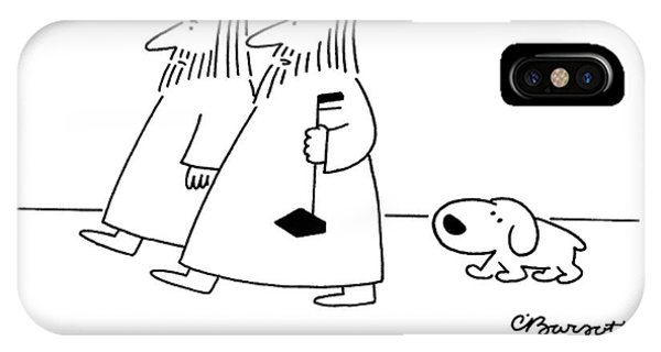 King Charles iPhone Case - It's Good For My Image by Charles Barsotti