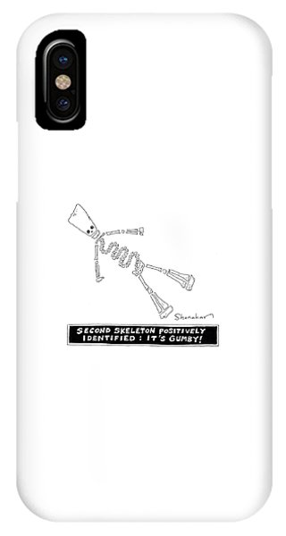 Bone iPhone Case - It's Gumby by Danny Shanahan