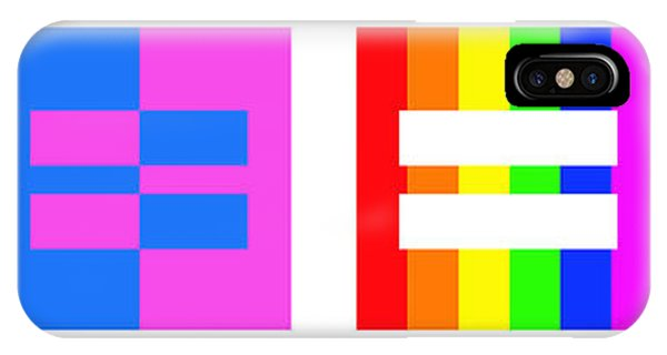 Lgbt iPhone Case - It's Time - Equal Rights For All By Sharon Cummings by Sharon Cummings