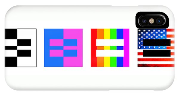 Gay Men iPhone Case - It's Time - Equal Rights For All By Sharon Cummings by Sharon Cummings