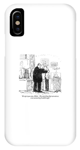 It's Up To You Now IPhone Case