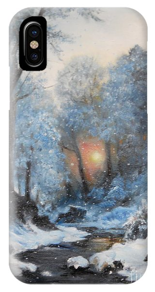 It's Winter IPhone Case