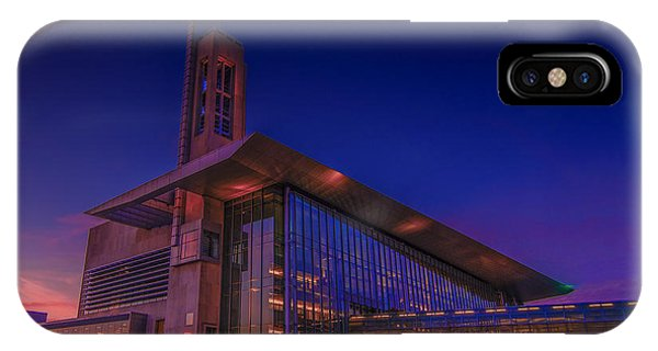 Purdue Boilermakers iPhone Case - Iupui Sunset 2014 by David Haskett II