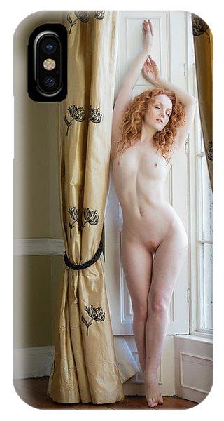 Ivory Drape IPhone Case