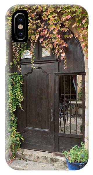 Ivy Covered Doorway IPhone Case